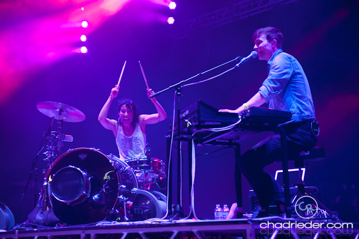 Matt and Kim Summer Set Festival