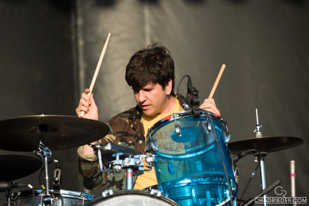 Dr. Dog drums