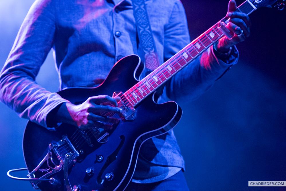 Gary Clark Jr. Epiphone guitar