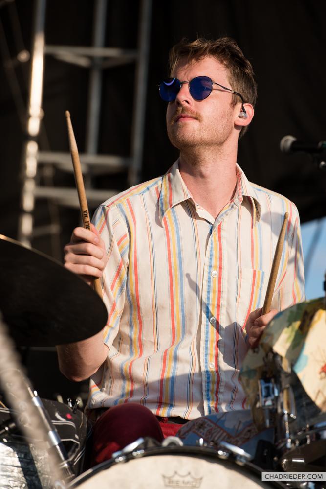 Tennis band drummer