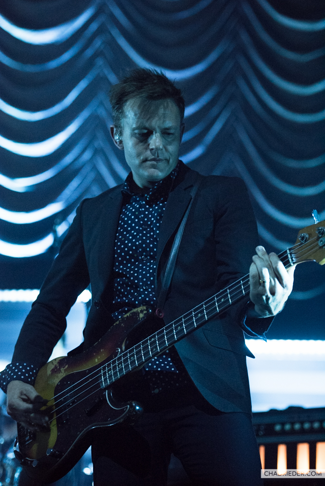 Spoon bassist Rob Pope